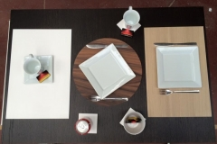 10-placemat fineer solid surface